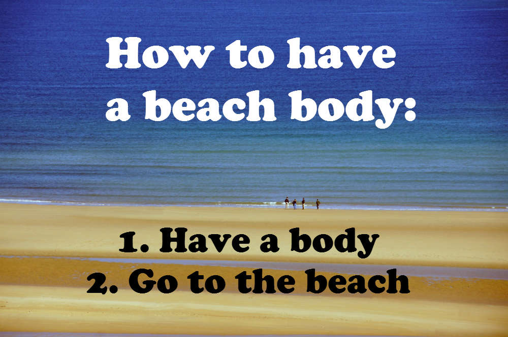 how to have a beach body confessions of a pregnant lady (with a side of panic!) getting